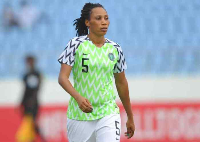 Super Falcons defender rules out rumoured move to Spain