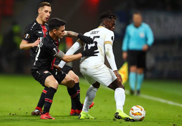 Steve Odey fires blank in FC Zurich Europa league defeat to Leverkusen