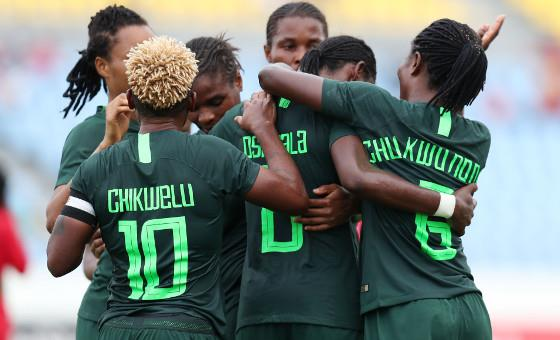 Super Falcons departs Nigeria for 4-Nation Tournament in China