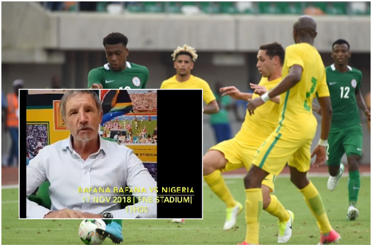 Watch: South Africans urged to come Out en masse to intimidate Super Eagles