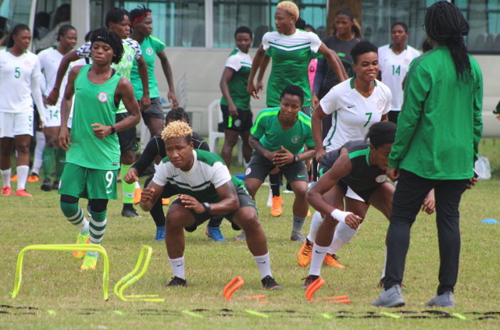 Super Falcons camp boosted by arrival of foreign based professionals