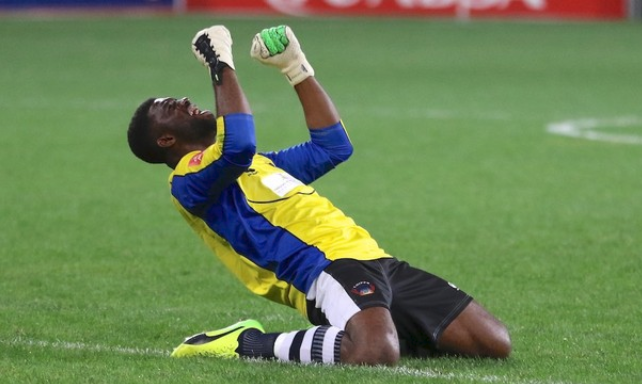 Akpeyi Keeps Clean Sheet, Pass FNB Stadium Audition