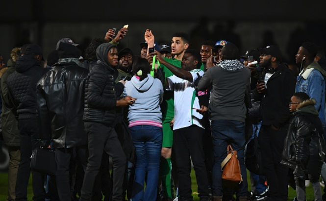 Leon Balogun Disturbing the Peace in South Africa