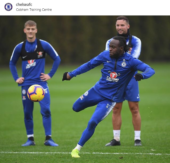 What's Strange about this Chelsea Picture of Moses and Drinkwater