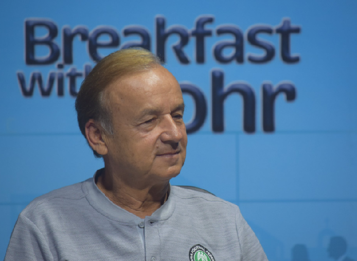 My dream Super Eagles is 70 percent Complete – Rohr