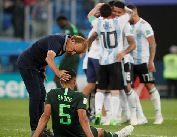 Rohr admits Tactical Gaffe vs Argentina at the World Cup