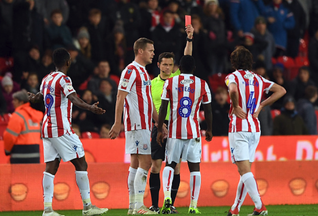 Etebo sees Red in Stoke City's Championship win over Derby