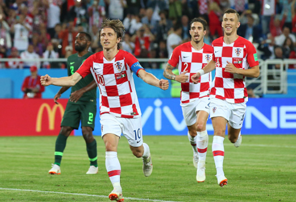 Luka Modric's goal vs Super Eagles wins World Cup Accolade