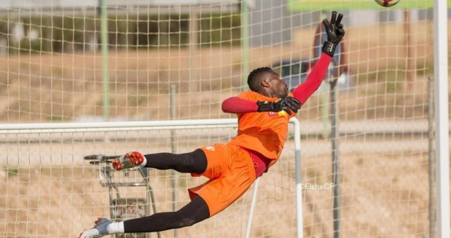 Uzoho keeps clean sheet on his Elche return