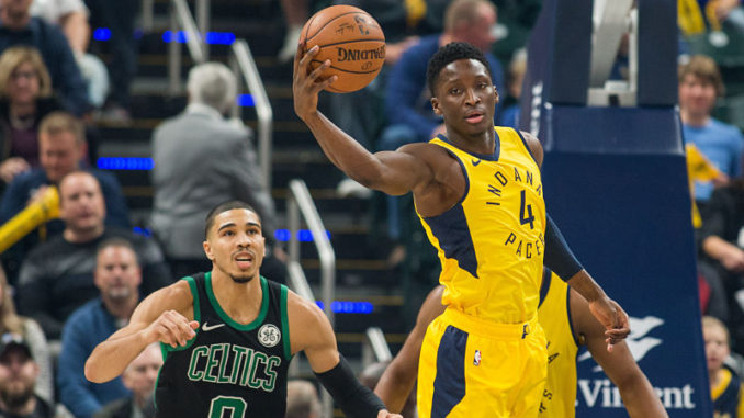 Victor Oladipo powers Indiana Pacers to victory over Celtics
