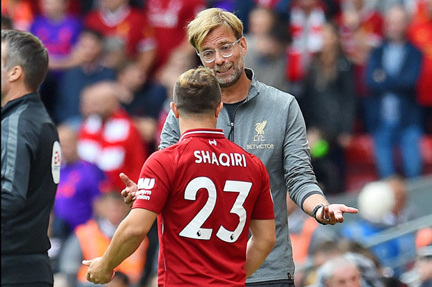 Shaqiri out of Champions League trip to Serbia over political reasons