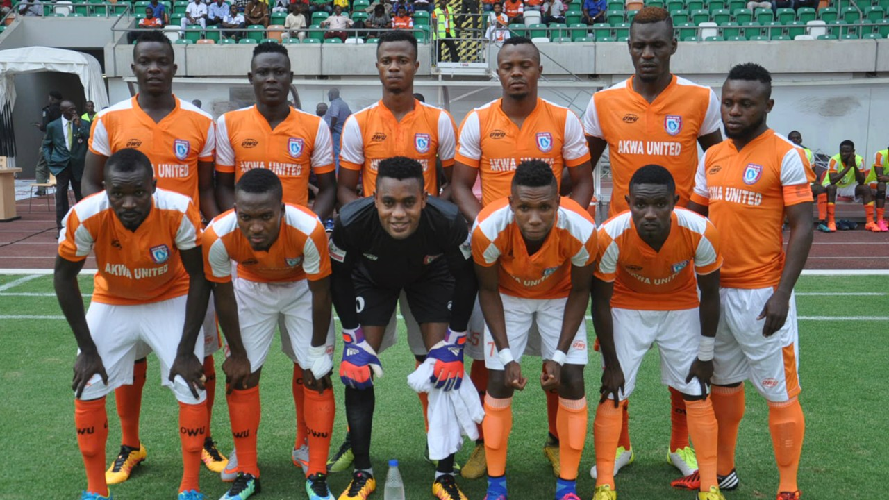 Akwa United part ways with nine players, to name new manager on Monday
