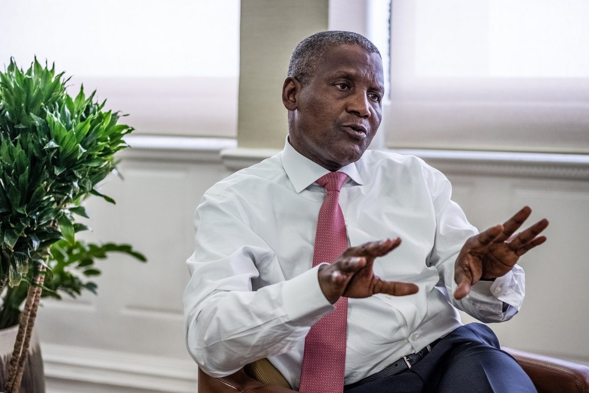 Dangote offering to buy Chelsea? Africa's Richest man drops hint