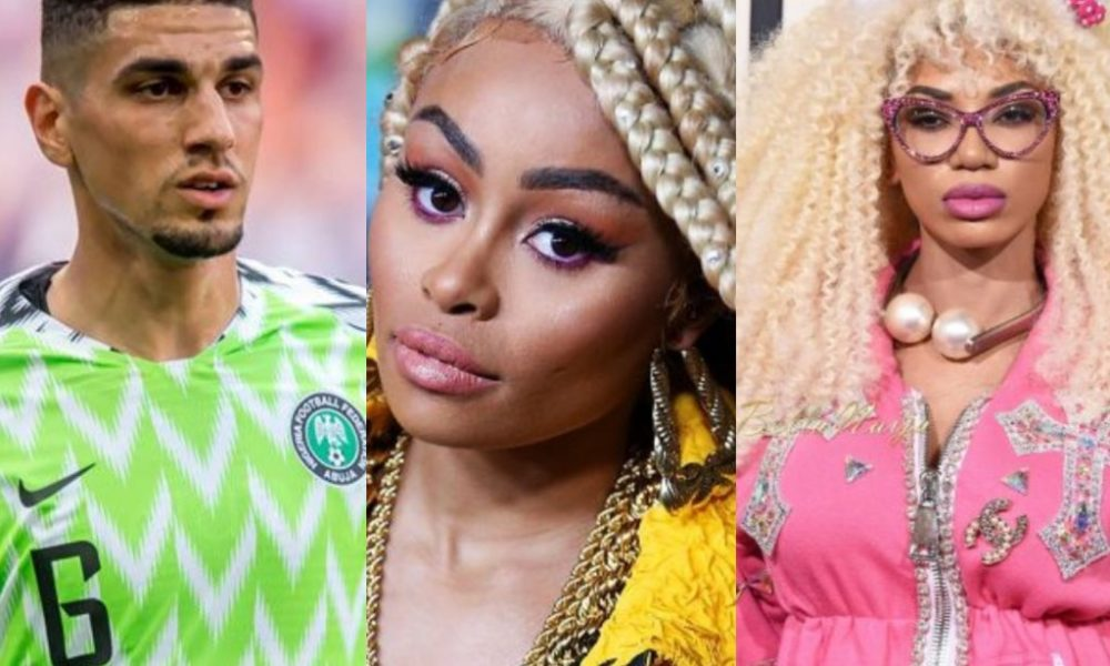 Leon Balogun calls out Blac Chyna, kicks against launch of bleaching cream