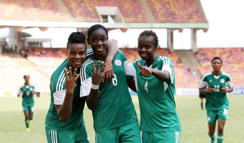 Oshoala, Oparanozie, Ordega arrive Super Falcons camp