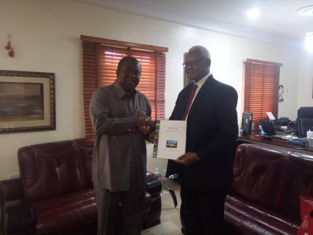 U.S Consulate Public Affairs chief pays visit to BRILA FM