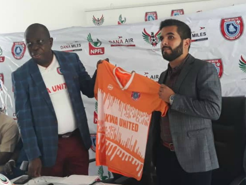 Akwa United appoint Rafael Everton as Head Coach