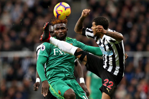 Watford coach Gracia slams Success, Okaka over Newcastle defeat