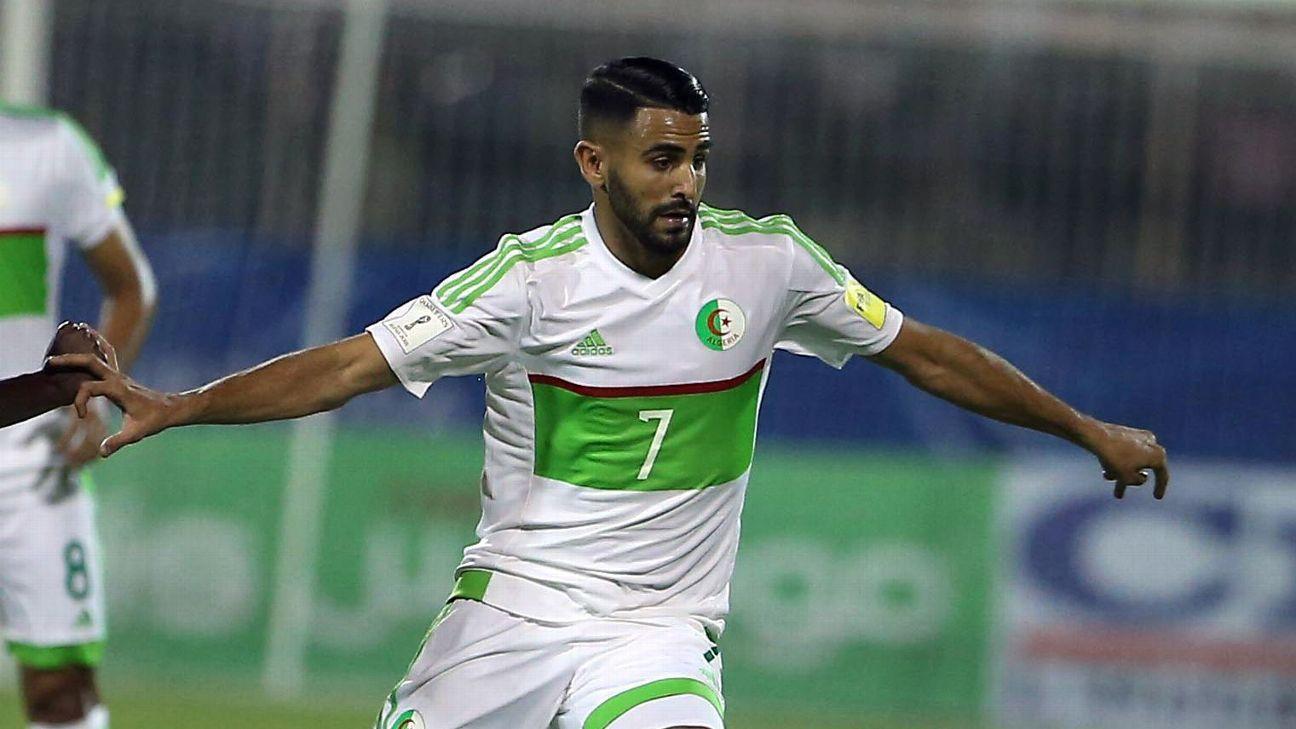 Mahrez brace books Algeria's spot at 2019 AFCON finals