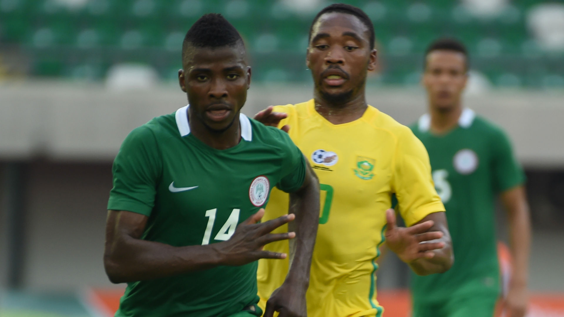 Success, Iheanacho & Osimhen to battle for Ighalo's place against Bafana Bafana