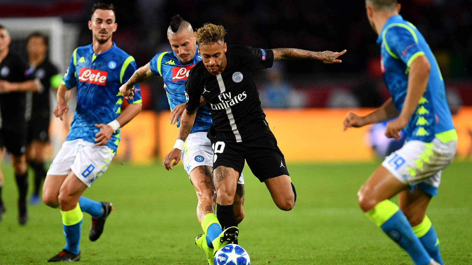 Neymar likens Napoli clash to a 'final' as PSG fights for UCL survival