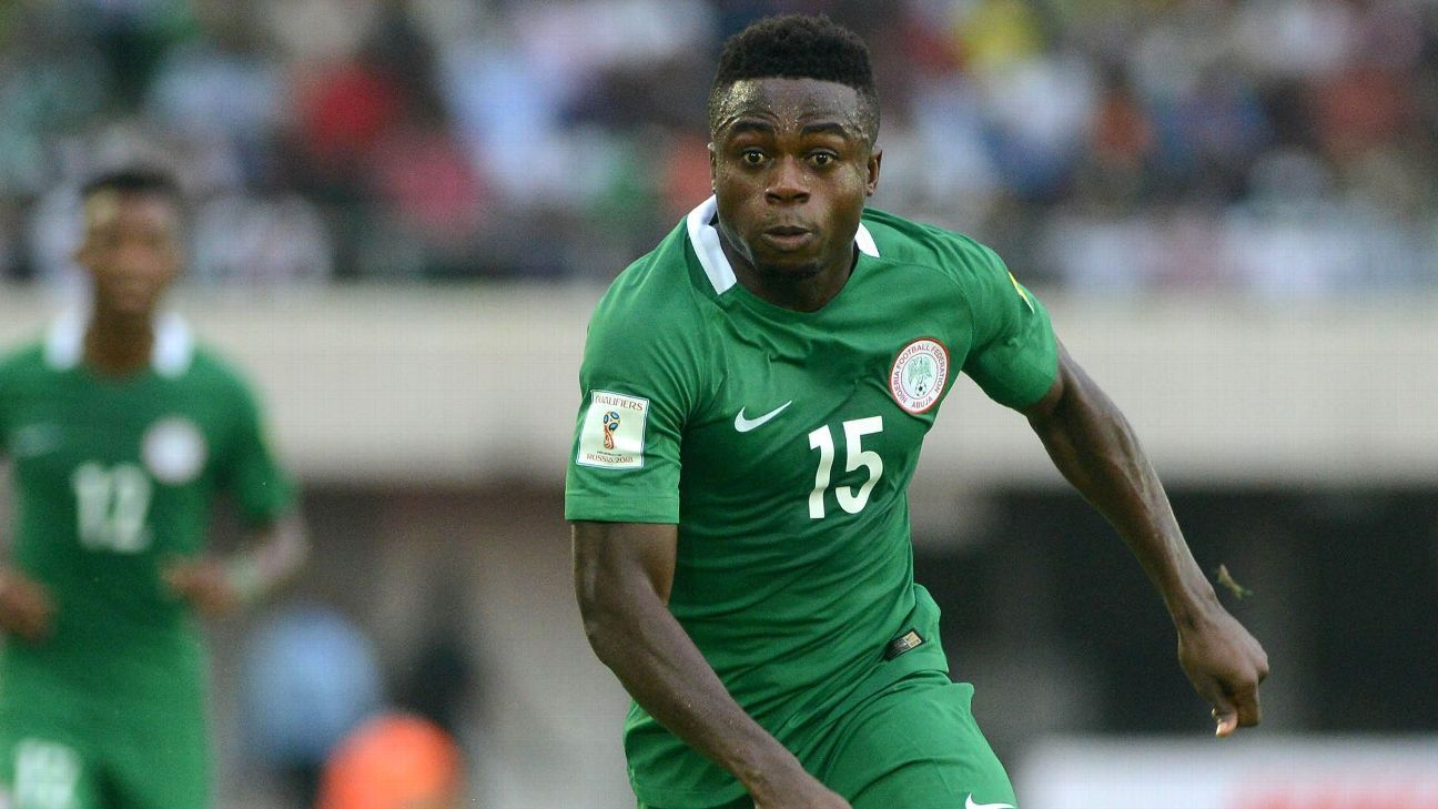 Eagles aim for victory against South Africa – Moses Simon