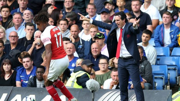 Redknapp slams Emery for substituting Iwobi in Tottenham defeat