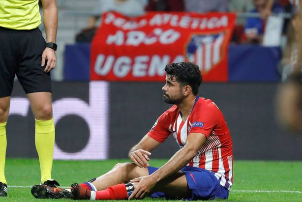 Diego Costa out for three months due to foot surgery