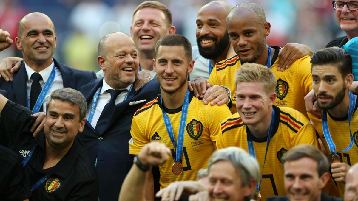 Belgium beats France to end 2018 on top of FIFA rankings