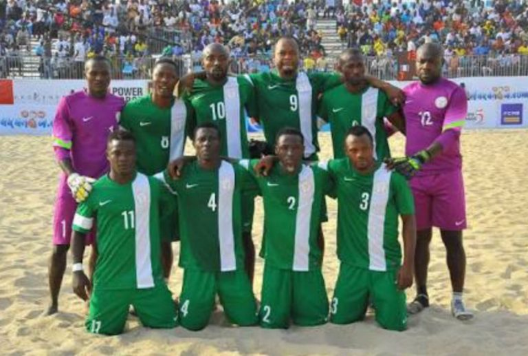 Beach soccer National cup: Sand Eagles Lose First Game To Senegal On penalties