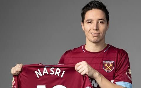 Former Arsenal star Samir Nasri joins West Ham United