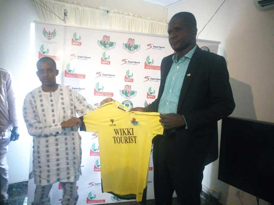 I don't need Management's target to perform, Says Wikki Tourist Coach Zubairu
