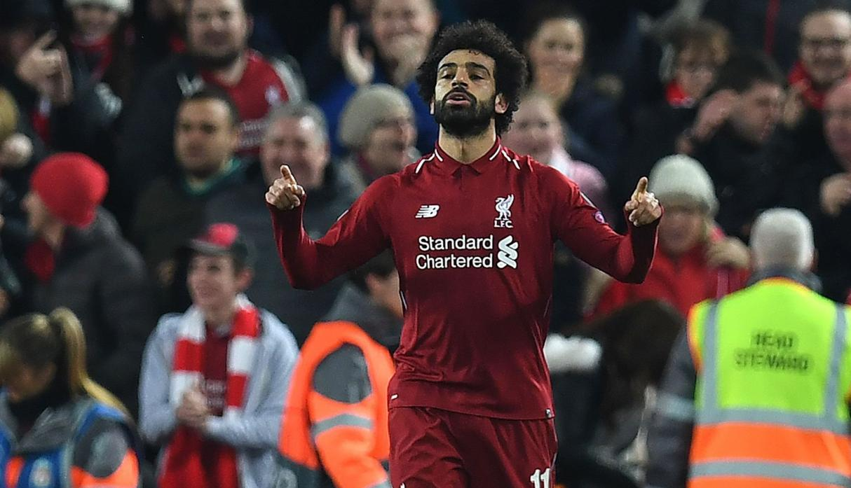 Mohamed Salah goal fires Liverpool into Champions League last 16