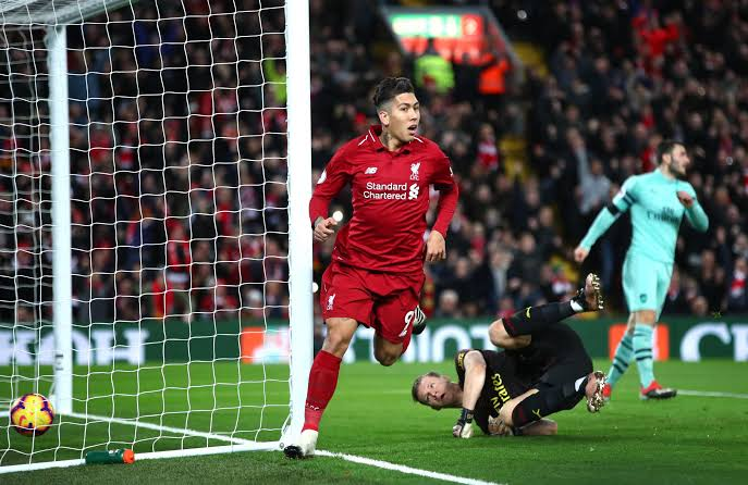 Rampant Liverpool open 9-point lead in EPL with Arsenal thrashing