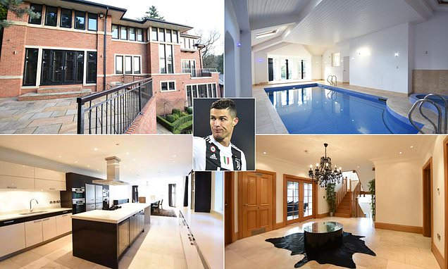 Ronaldo puts his massive Manchester house up for sale