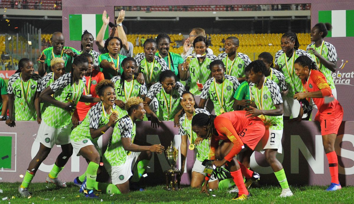 Super Falcons Drop To 39th In FIFA World Ranking
