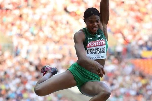 Okagbare targets Ajunwa's African long jump record