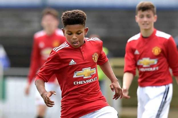 Man United U19s call up 14-year-old Nigerian winger Shola Shoretire for Valencia clash