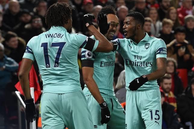 Emery showers praise on Iwobi despite Arsenal loss to Liverpool