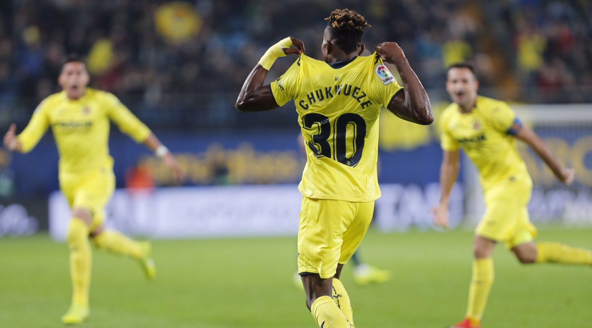 Chukwueze's first Europa League goal send Villarreal to round of 32