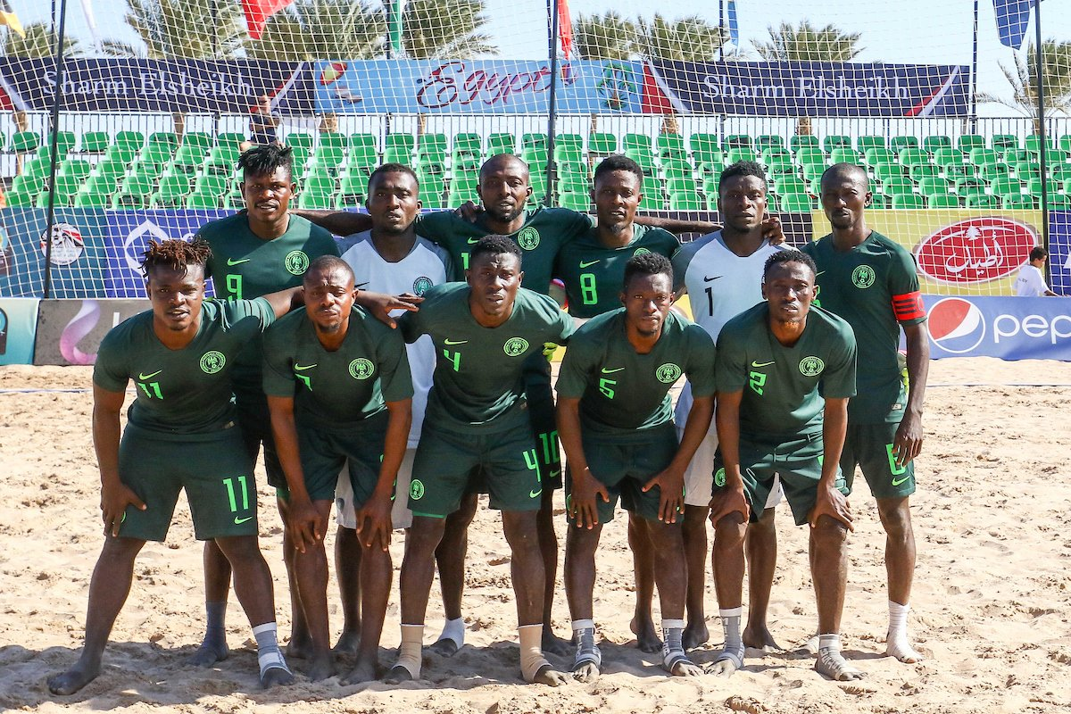 Sand Eagles bow 1-6 to Senegal in 2018 AFCON Beach Soccer final