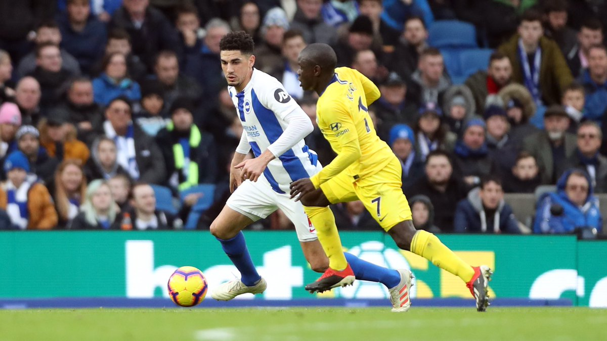 Balogun accepts blame for Brighton's loss to Chelsea
