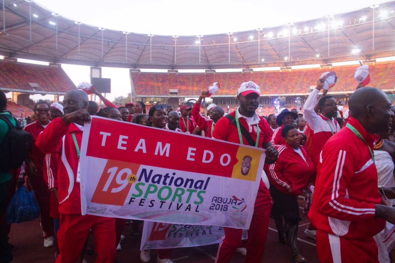 Edo state promises to host best National Sports Festival in 2020