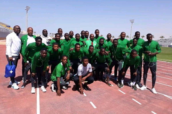 Flying Eagles arrive Lome for U-20 WAFU Cup