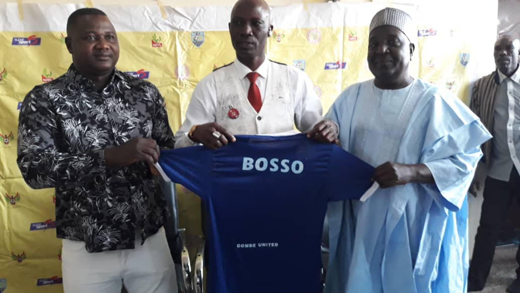 Gombe United unveils Ladan Bosso as new Manager