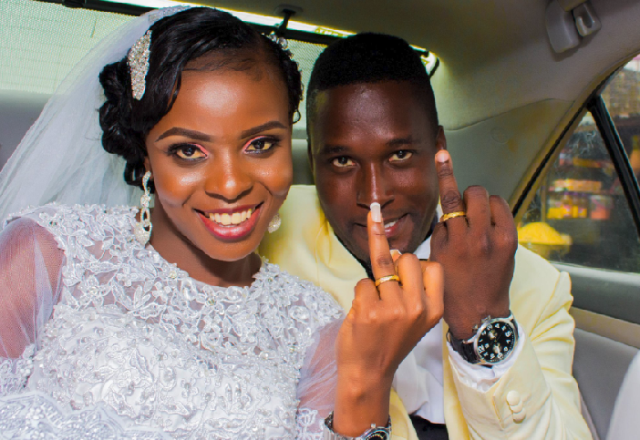 "Okobi celebrates Wedding Anniversary despite a ""tough Year"""