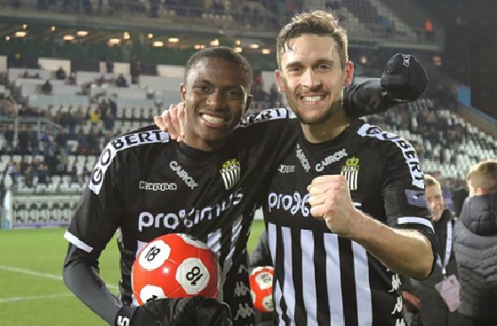 Osimhen Charleroi's Top Scorer with 8th League Goal of the season