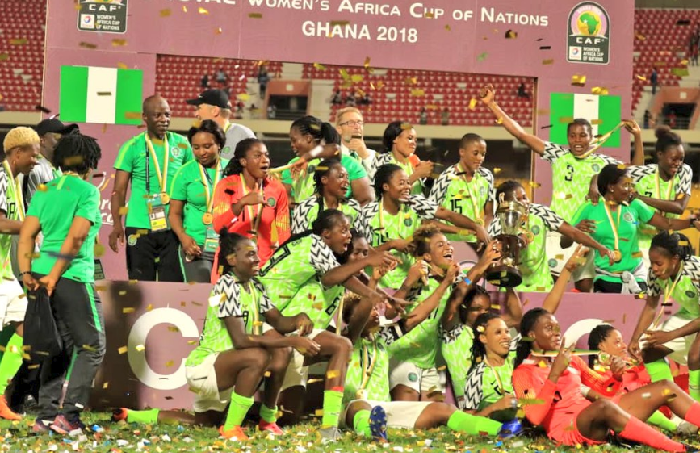 Falcons get N2.2m for winning 9th AWCON