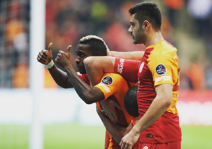 Onyekuru nets Brace in Galatasaray win, Celebrates with a bow