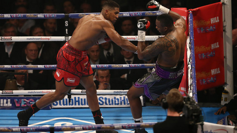Anthony Joshua angrilly vows to knock out Dillian Whyte in rematch